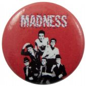Madness - 'Group Red' Button Badge